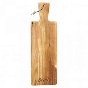 engraved bread board housewarming gift